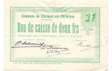 Clermont sur Berwinne 2 francs