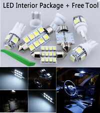 12PCS White LED Lights Interior Package Kit for Acura TSX 2009 2014