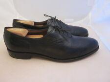 """Allen Edmonds """"Ashbury"""" Black Patterned Leather Oxfords Mens 10.5 A & Shoe Trees"""