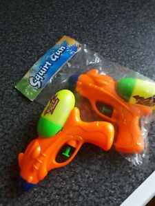 Squirt Water Guns x 2 approx 7 inches
