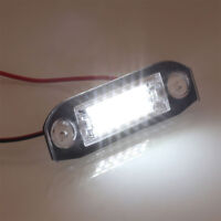 2x 18LED License Plate Number Light Lamp For Volvo S80/XC90/S40/XC60/S60/V70/V50