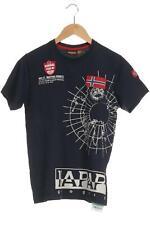 Napapijri T-Shirt Damen Oberteil Shirt Gr. M Baumwolle blau #247d20e