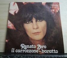 RENATO ZERO - IL CARROZZONE - BARATTO - 45 GIRI VINILE - NUOVO 1979 - PB 6311