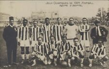 FOOTBALL JUEGOS OLIMPICOS 1924 EQUIPE DE EGYPTE 308  REAL PHOTO