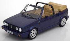 VW GOLF I CABRIOLET 1992 BLUE METALLIC NOREV 188432 1/18 VOLKSWAGEN 1 LIMITED