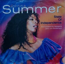 "Donna Summer - State Of Independence - 7"" - Vinyl Record 45 RPM"