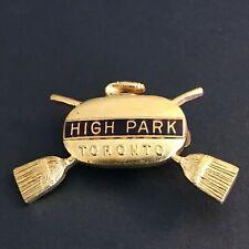 New listing CURLING PIN HIGH PARK TORONTO (Birks written on back)