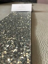 Glitter Table Cloth Runner Perfect Christmas or Wedding Table Aisle Decoration