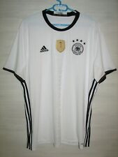 GERMANY 2015-16 HOME SHIRT NATIONAL TEAM ADIDAS JERSEY SIZE 2XL