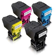 4 Toner für Epson Aculaser CX 37 DN