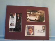 James Dean - Rebel without a Cause and First Day Cover of his own stamp