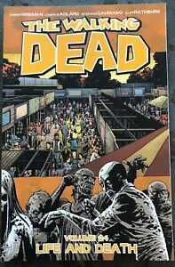 THE WALKING DEAD volume 24 LIFE AND DEATH TPB - Brand new/unread/ #139-144