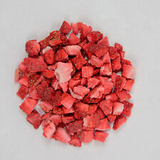 Food-united fresas liofilizado trozos de cubo 10x10mm 500g