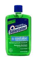 Solarcaine Cool Aloe Burn Relief with Aloe Vera, 8 Ounce 226g After-Sun Gel