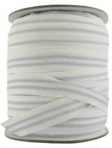 22 mm Wide Rubberised Shirt Grip Tape - White 5- 10 metre lengths