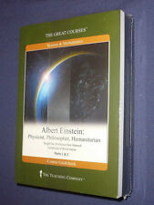 Teaching Co Great Courses  CDs        ALBERT  EINSTEIN            new & sealed