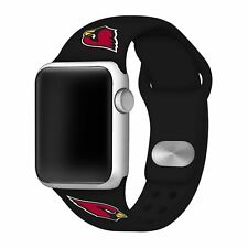 Arizona Cardinals Silicone Sport Band Compatible With The Apple Watch