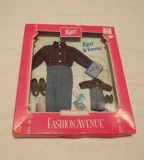 Barbie Mattel Fashion Avenue KEN & TOMMY Matchin' Styles School Outfits 1997 NOS
