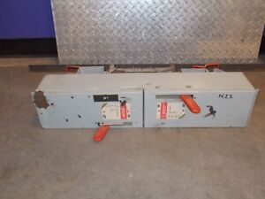 GE SPECTRA ADS32060HD 60 A 240 V 15 HP 3 P FUSIBLE PANELBOARD DISCONNECT SWITCH