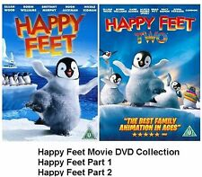 HAPPY FEET COMPLETE COLLECTION PART 1 2 BRAND NEW AND SEALED UK REGION 2 DVD