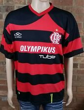 Olympikus CRF Flamengo Men's Home Jersey Red/Black Clube de Regatas size Large