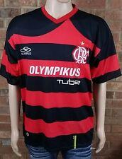 Olympikus CRF Flamengo Men's Home Jersey Red/Black Clube de Regatas size Large