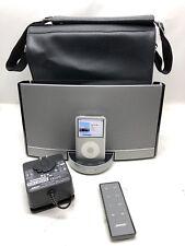 Bose SoundDock Portable Digital Music System W/Storage Pouch, S/N:107AE