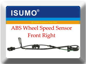 ABS Wheel Speed Sensor Front Right Fits:lexus RX300 99-03
