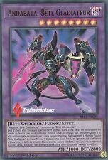 ♦Yu-Gi-Oh!♦ Andabata, Bete Gladiateur : BLLR-FR022 -VF/Ultra Rare-