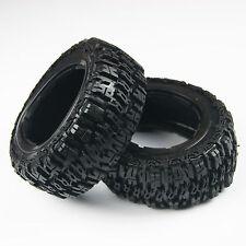 King Motor Rear T1000 GT  Knobby Tires, Wheels Fit HPI ROVAN Baja 5T 5SC LOSI
