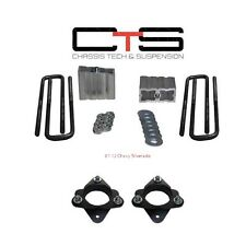 """Chevy 07-13 FRONT 3"""" REAR 1.5"""" LEVELING LIFT KIT BLOCKS Ubolt""""B"""" SPACERS 4X2 4X4"""