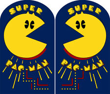 Super Pacman Medallion Sideart Set (2 pc set) Super Pac-Man
