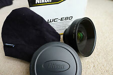 NIKON WC-E80 Wide Angle converter LENS in scatola in ottimo stato poco utilizzata