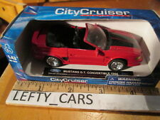 1994 RED FORD MUSTANG GT CONVERTIBLE Scale 1/43 - NEW IN THE BOX