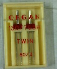 Organ Sewing Machine Twin Needles FITS, Brother~Janome~ Singer + MORE