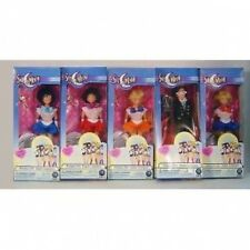 "Rare Sailor Moon 6""  Dolls 5 Piece Set By Irwin Toys"