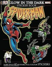 Ultimate Sticker Book: Glow in the Dark: Spider-Man (Ultimate Sticker Books)