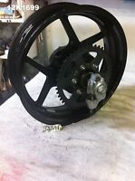 KAWASAKI EX 650C 2008 REAR WHEEL GENUINE OEM 17 X 4.50 GOOD CONDITION  12K1699