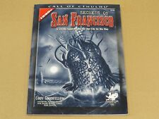 Chaosium Call Of Cthulhu Secrets of San Francisco 1920s Book Games Workshop