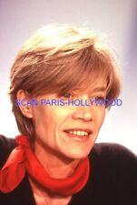FRANCOISE HARDY 90s DIAPOSITIVE DE PRESSE ORIGINAL VINTAGE SLIDE #7