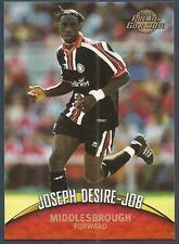 TOPPS PREMIER GOLD- 2000-01- #089-MIDDLESBROUGH & CAMEROON-JOSEPH DESIRE-JOB