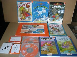 HOOKED ON PHONICS Learn to Read FIRST GRADE ~ ORANGE WORKBOOKS Mix Lot