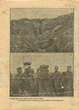 WWI Bataille de Verdun Cote 304 Deutsches Heer Prisoners War 1917 ILLUSTRATION