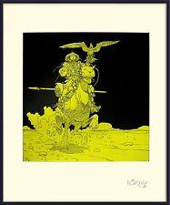 MOEBIUS -GIRAUD SINJUKU SERIGRAPHIE - EXEMPLAIRE SIGNÉ (EDITIONS AEDENA)