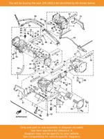 YAMAHA Cable, Throttle 3, 1FK-26313-00 OEM VMAX12 VMX12 VMX1200