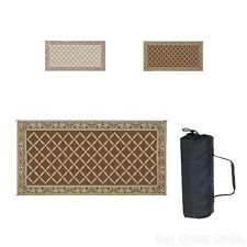 RV Trailer Patio Beach Camping Reversible Outdoor Mat 9x18/119127 Camper Rug