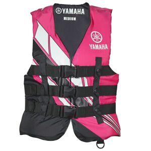 Yamaha Women's Yamaha Value Nylon 3-Buckle PFD Pink