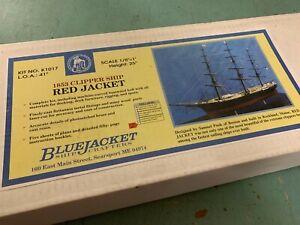 Red Jacket Clipper Ship 1853 Model by Bluejacket