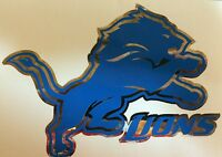 Detroit Lions Nfl Vinyl Decal **FREE SHIPPING**