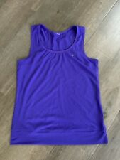 New listing Women's Adidas Purple Climalite Workout Tank Top